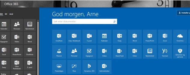 IKT-Servicefag har sin egen Office365 tenant!