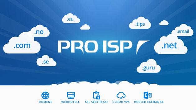 Samarbeid med PRO-ISP