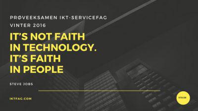 Prøveeksamen IKT-Servicefag